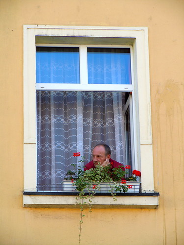 watching the Ceramiczna Parada