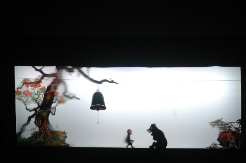 silhouette : International Shadow Puppetry festival, India
