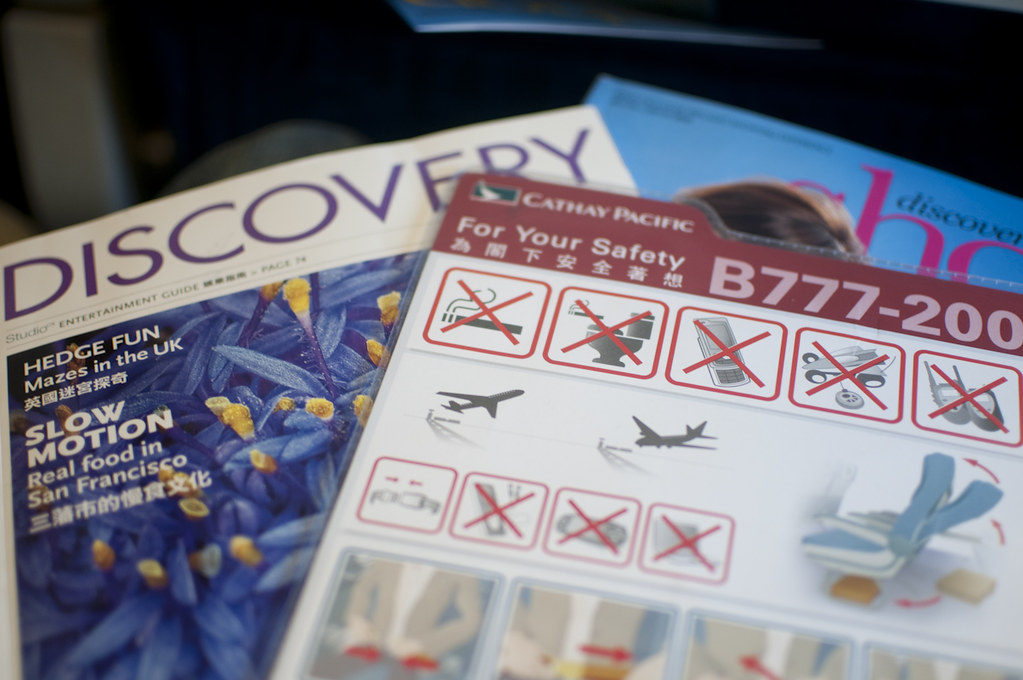 In-flight Materials