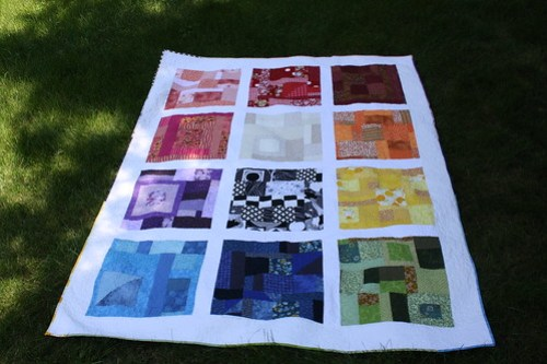 color wheel quilt!