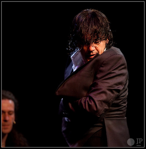 José Barrios, bailaor y coreógrafo. Foto: Juan Pelegrín