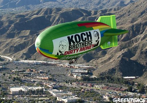 Flying Into Koch Dirty Money