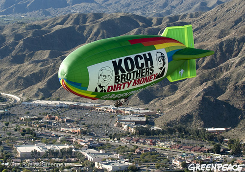 Flying Into Koch Dirty Money
