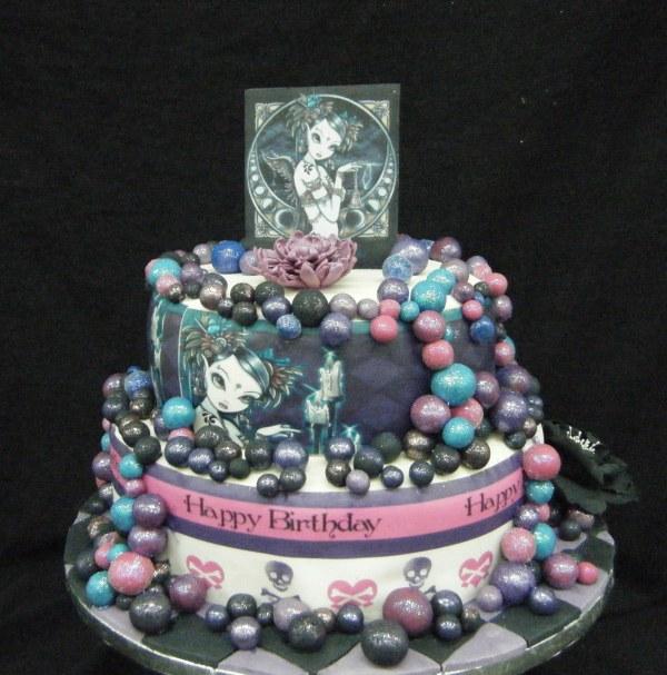 15 Year Olds Birthday Cake - Sharing