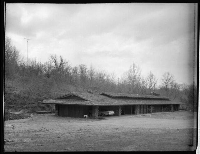Walton Residence  Bentonville Arkansas  Built 1958