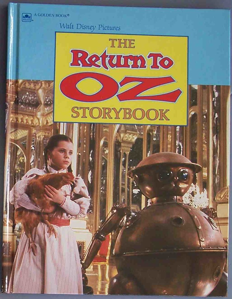 Return to Oz storybook