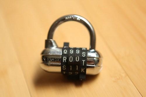 """Master lock, """"r00t"""" password"""
