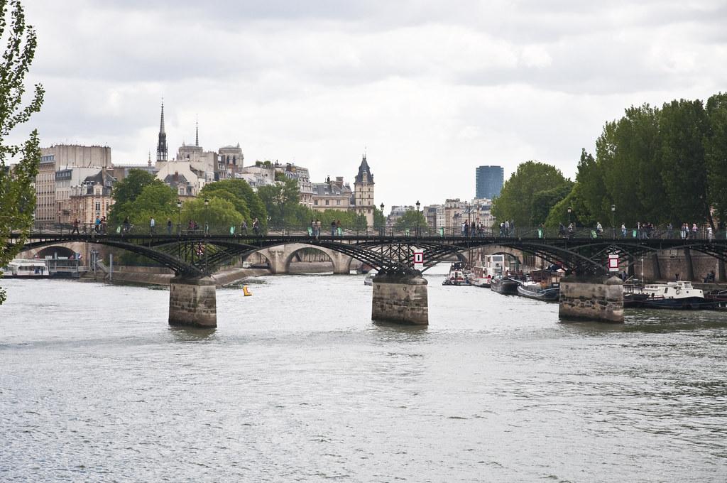 Pont des Arts at the Seine