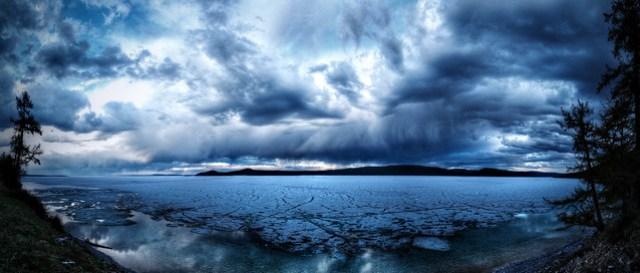 Lake Khovsgol, Mongolia (no border)