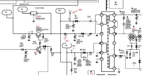 Sanyo Tv Diagram - Auto Electrical Wiring Diagram