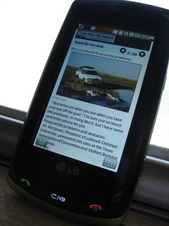 cell phone mobile browser