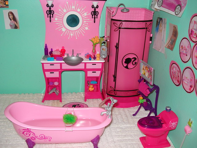Barbie Bathroom  Flickr  Photo Sharing