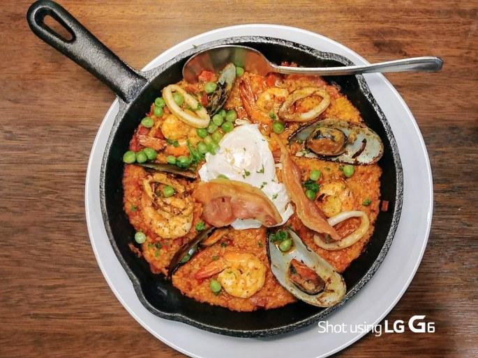 Perfect Pint Seafood Paella