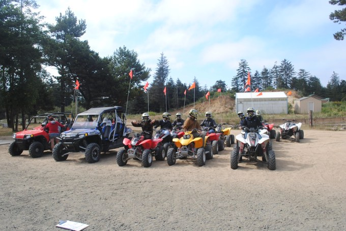 ATVing at the Sand Dunes