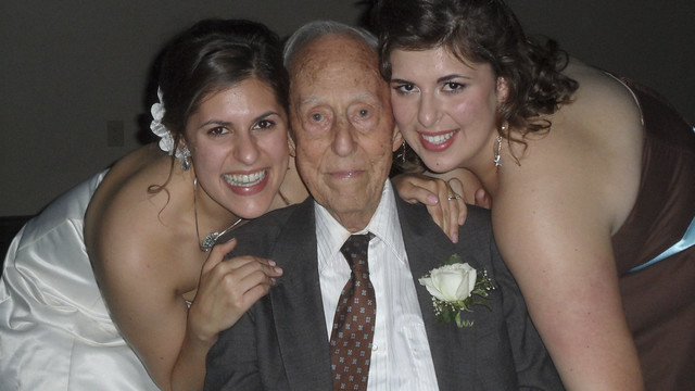 Morfar and His Granddaughters