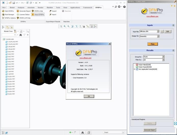 Geometric DFMPro v4.2.1-4.4.1 for ProE Creo x86 x64 full