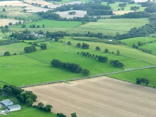 Halton Chesters from the air