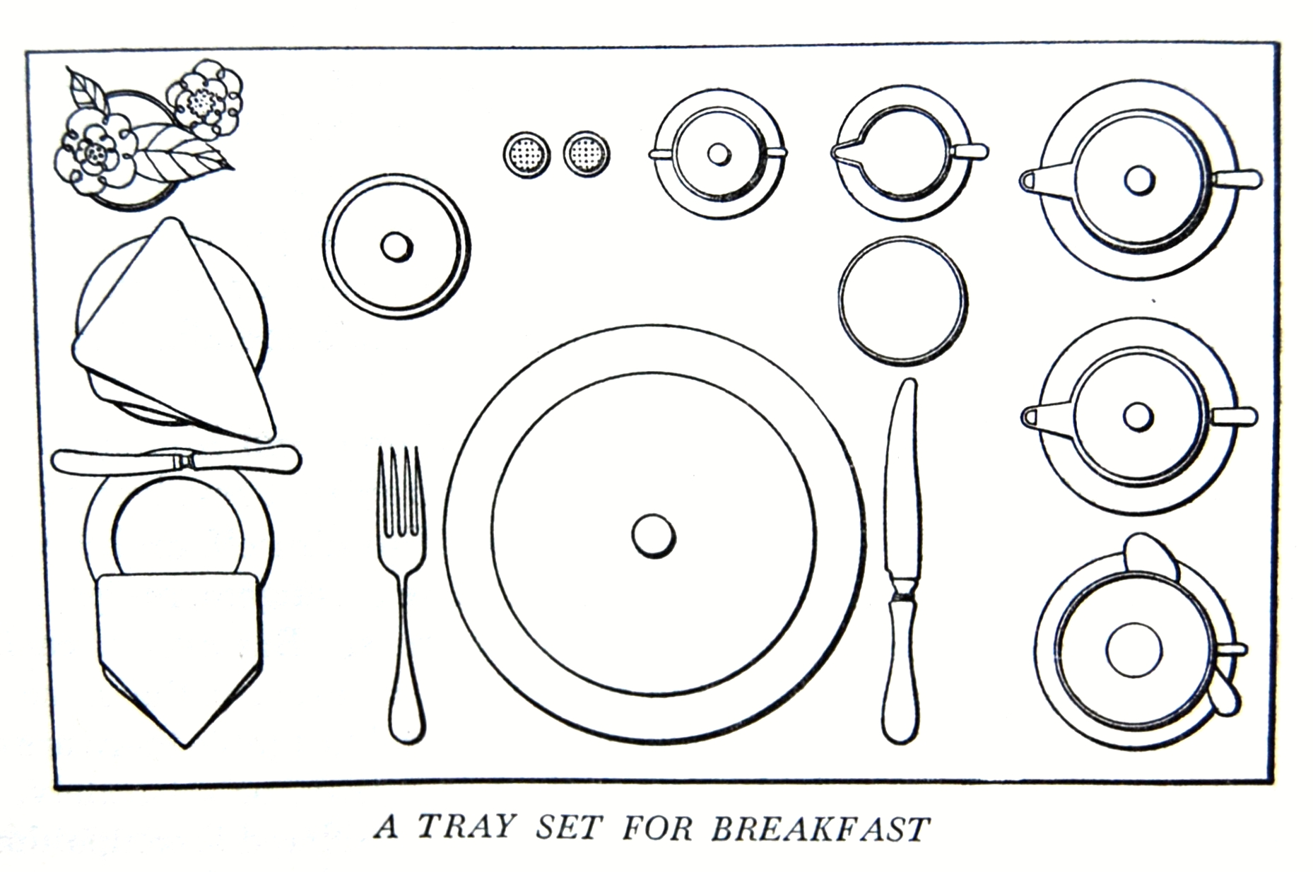 A Tray Set For Breakfast Flickr