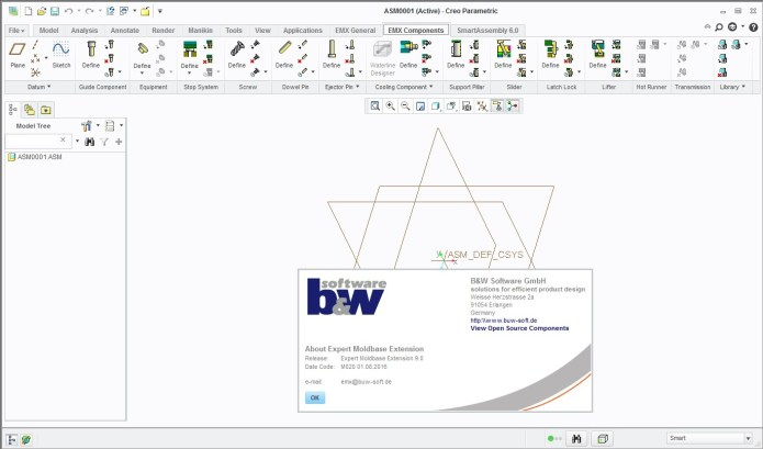 PTC Creo Expert Moldbase Extension 9.0 M020 for Creo 1.0-3.0 win32 win64
