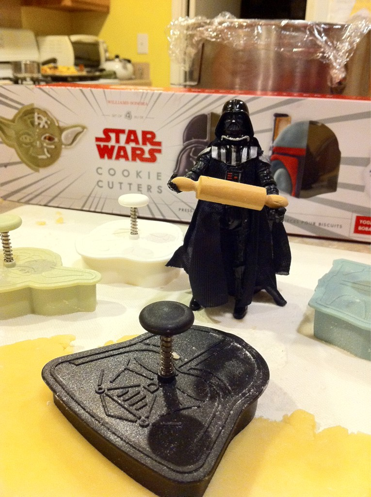 This is how Darth Vader spends his Saturday nights