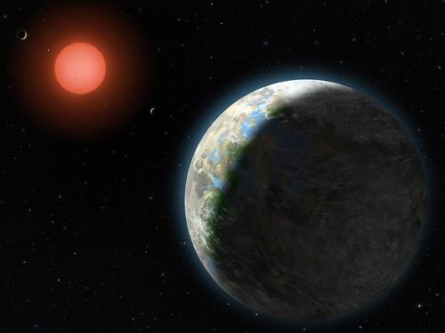 Zarmina, Gliese 581