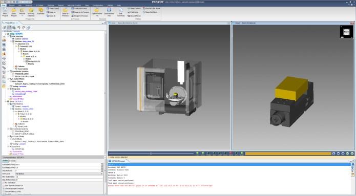 CNC machining with vericut 8.0 64bit full