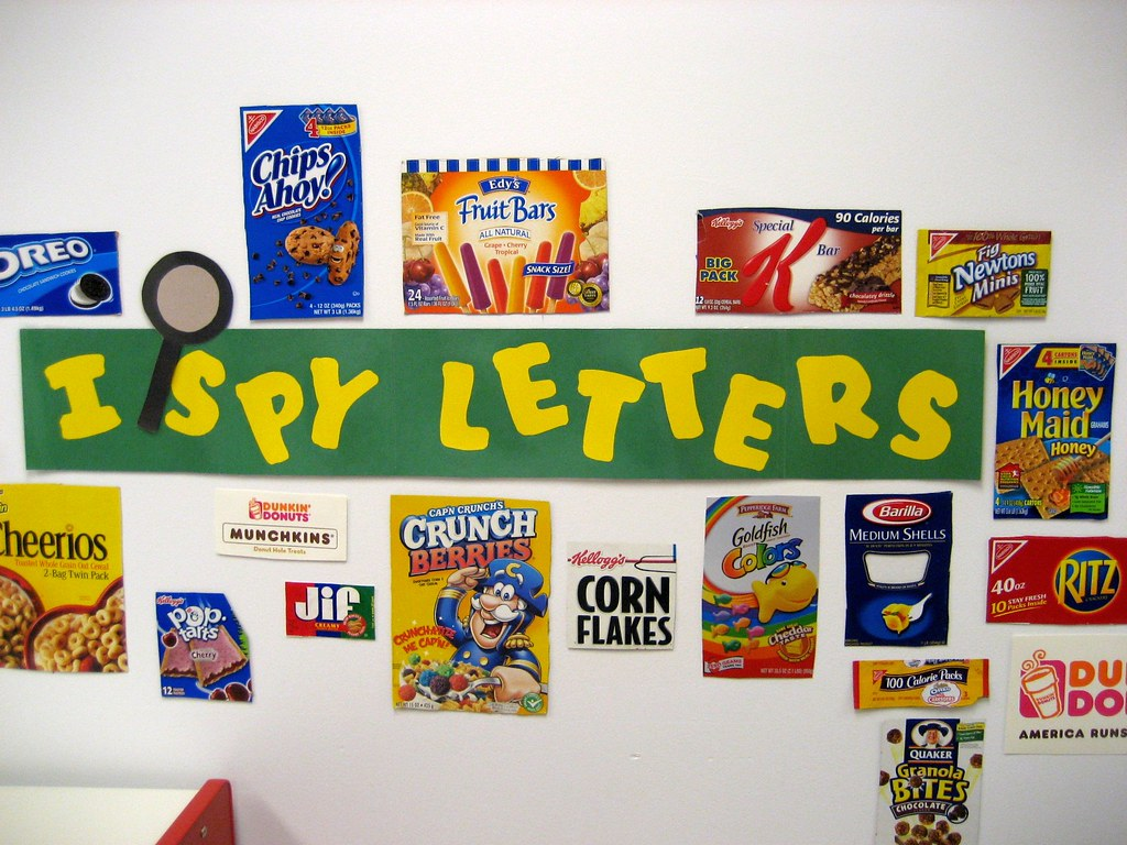 I Spy Letters I Thought This Was A Great Way To Teach Kids Flickr