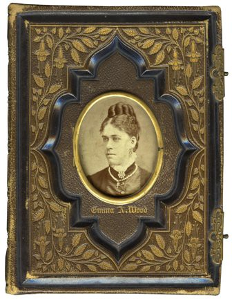 Antique Victorian Photo Album Cover Karen Tullo Flickr