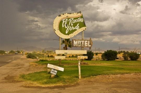 El Rancho Verde Motel - Blythe, California U.S.A. - July 29, 2010