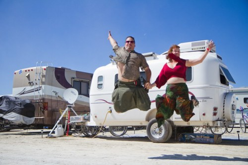 Technomadia jumpshot @ Burning Man 2010