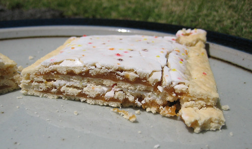 Limited Edition Frosted Pumpkin Pie Pop-Tarts Innards