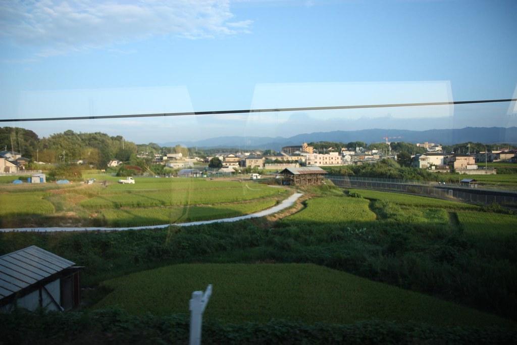 train ride to kyoto