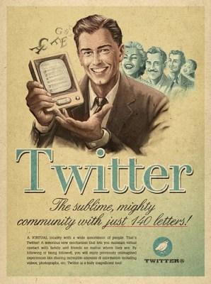 Twitter Vintage Seminars Campaign