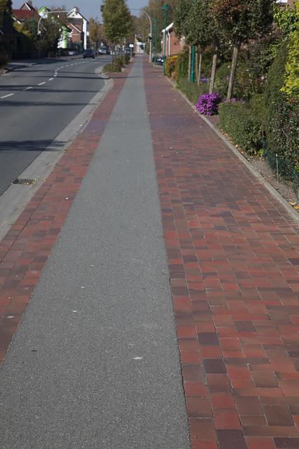 Shared sidewalk