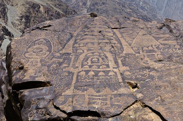 Sibi  Buddhist petroglyphs in Pakistan,jpg