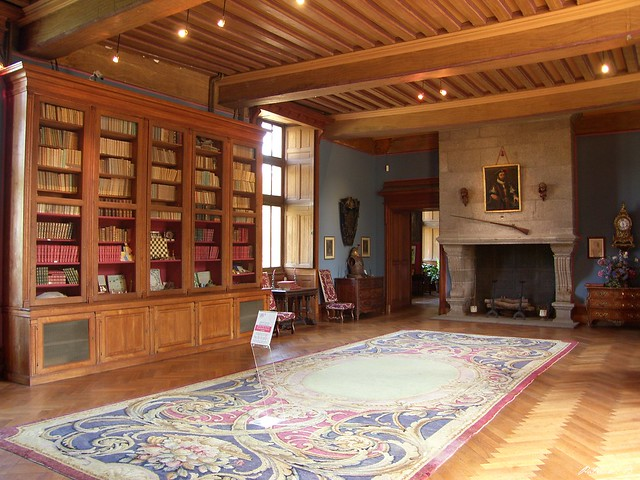 Chteau de la Guignardire_Grand salon Bibliothque  Flickr  Photo Sharing