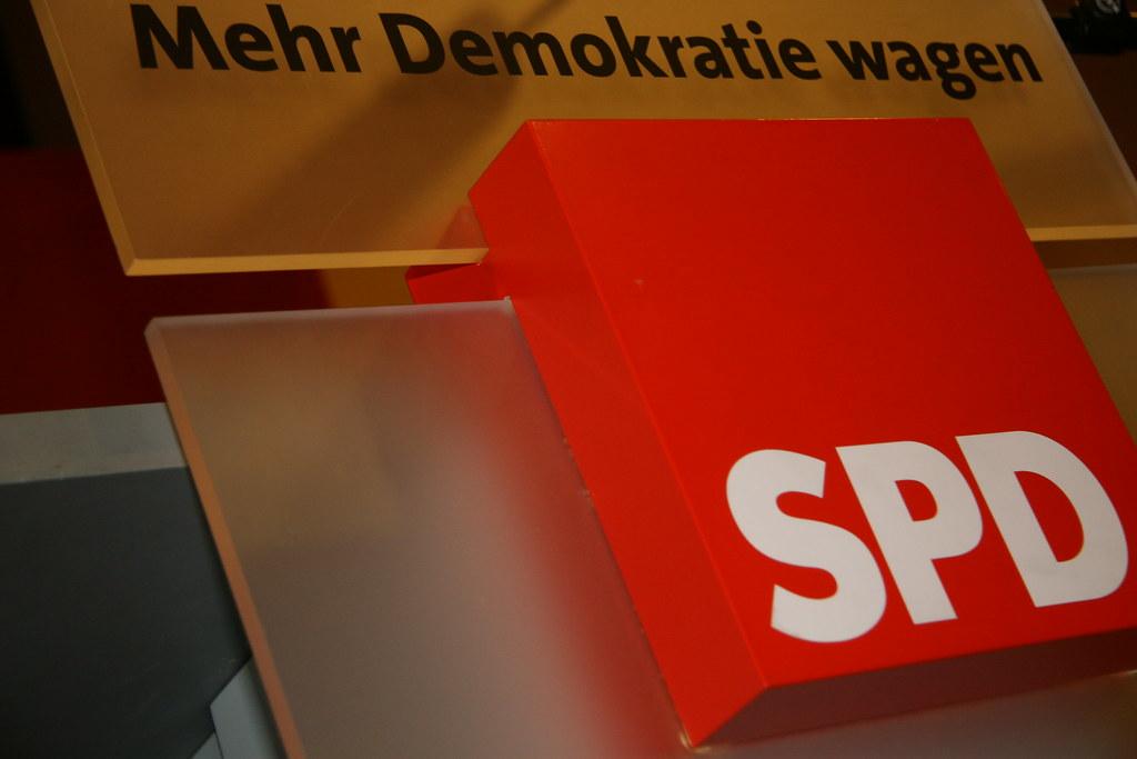 """""""Más democracia"""", lema reciente del SPD. Fuente: Flickr, SPD-Schleswig-Holstein"""