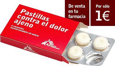 Pastillas contra el dolor ajeno ( medicos sin fronteras)