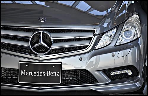 [ E - Class front ] TecDays by Mercedes Benz in Tokyo, Japan