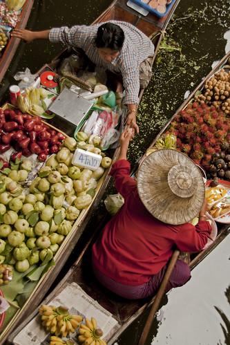 Damnoen Saduak Floating Market (Ratchaburi - Thailand)