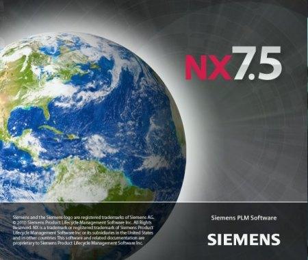 SIEMENS PLM NX 7.5
