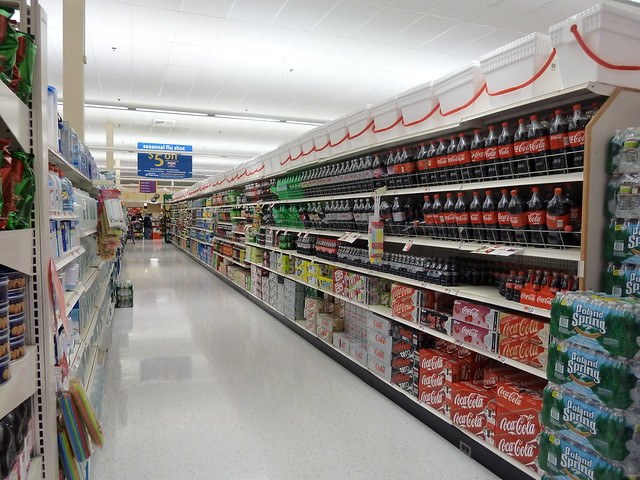 The soda aisle