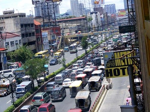 Quiapo as seen from the Isetan parking building