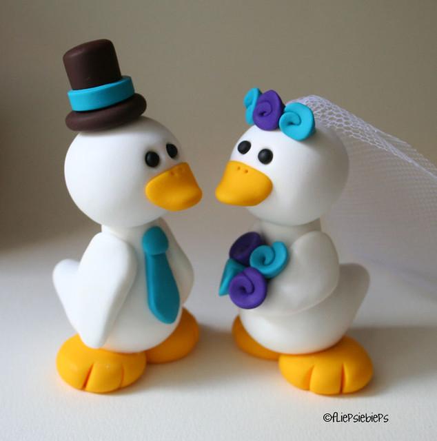 Duck Wedding Cake Topper  Flickr  Photo Sharing