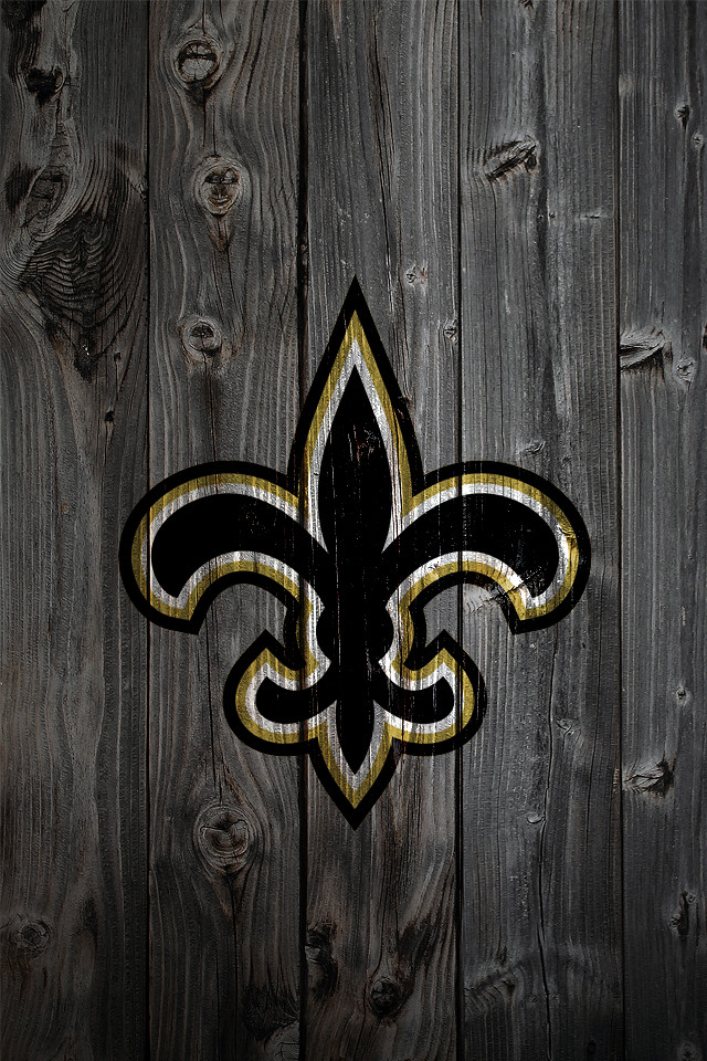 New Orleans Saints Iphone Wallpaper New Orleans Saints Wood Iphone 4 Background A Photo On