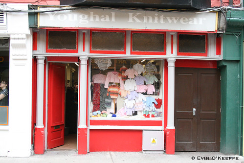 Youghal Knitwear on Princes Street, Cork City