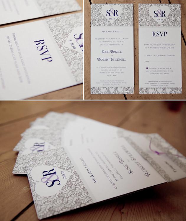 Rob and Susie Wedding Invites