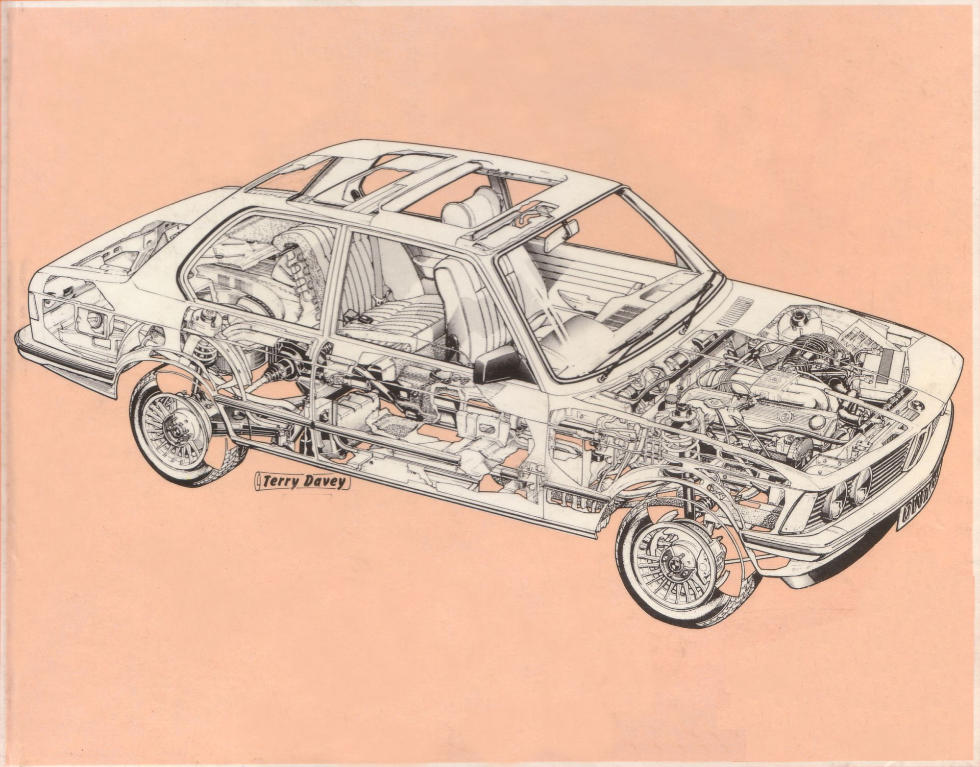 hight resolution of the cutaway diagram files bmw e21
