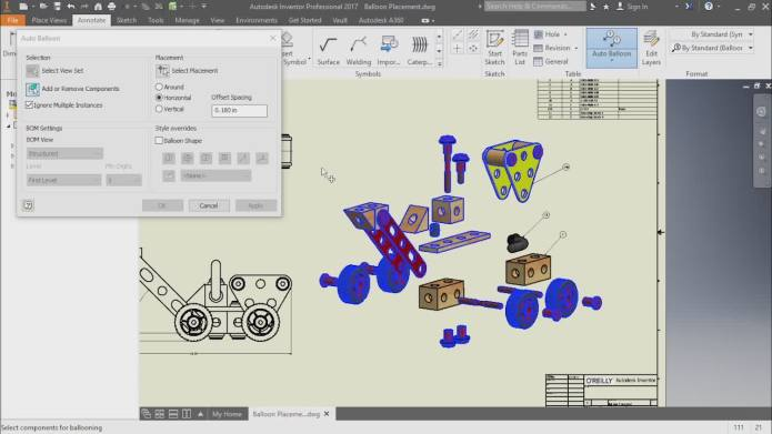 Learning Autodesk Inventor 2017 Training