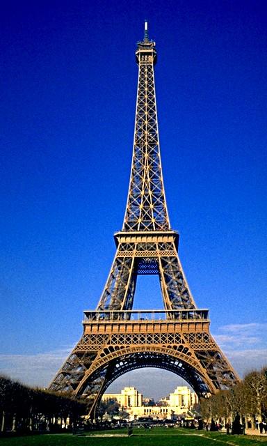 Parigi anno 1996  Tour Eiffel Photoscan  La Torre